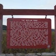 The Mullan Road Historical Marker