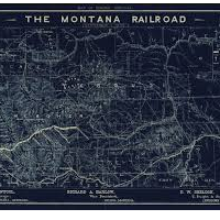 The Montana Central Railroad Historical Marker