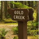 First Discovery of Gold in Montana Historical Marker