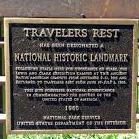 Traveler's Rest Historic Marker