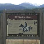Nez Perce Sikum Historical Marker