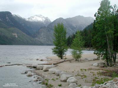 Lake Como Recreation Area Darby Montana