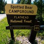 Spotted Bear Campground