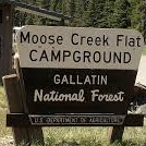 Moose Creek Flat Campground