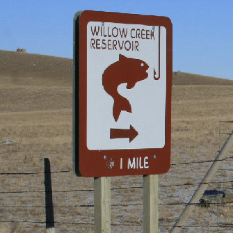 Willow Creek Reservoir Fishing Campground