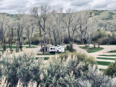 Vigilante Campground Bannack State Park  Montana