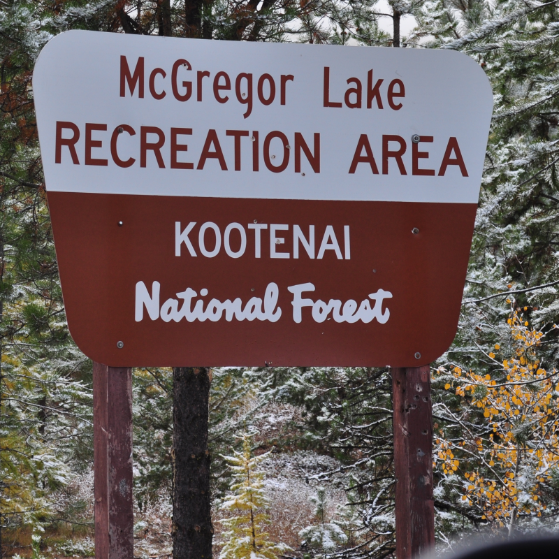 Little McGregor Lake Campground